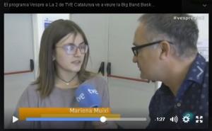 imatge video vespre a la 2 TVE